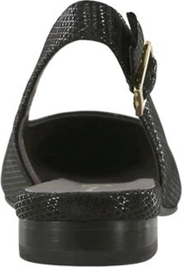 Women's SAS Chloe Slingback, Onyx Leather, large, image 3