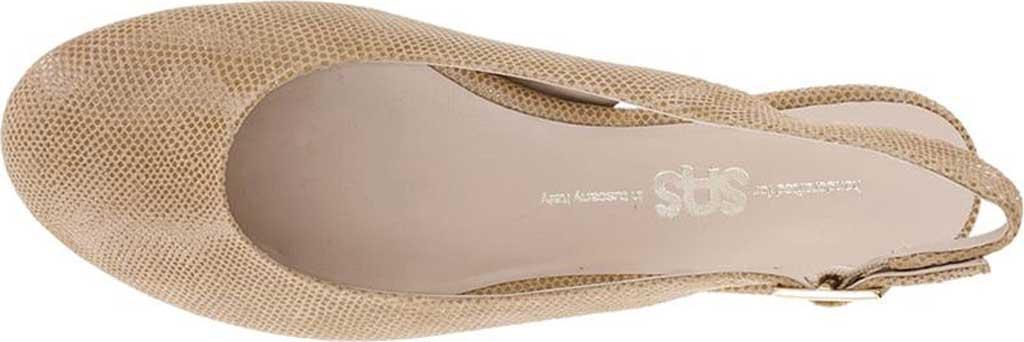 Women's SAS Chloe Slingback, Champagne Leather, large, image 3