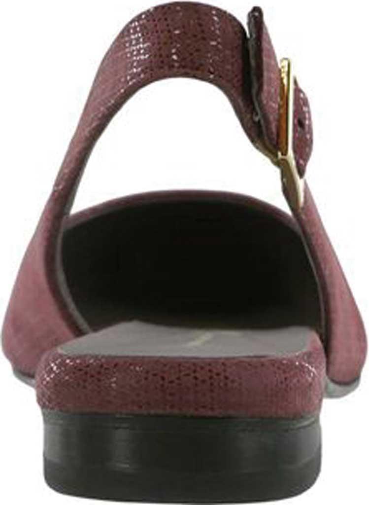 Women's SAS Chloe Slingback, Webster Wine Leather, large, image 3