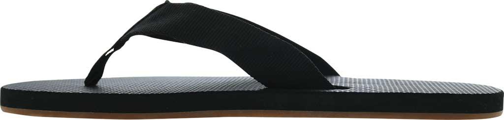 Men's Scott Hawaii Paha Flip Flop, Black, large, image 2