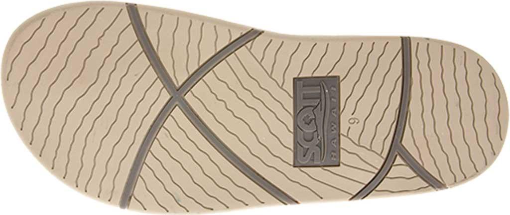 Men's Scott Hawaii Punahele Flip Flop, Latte, large, image 4