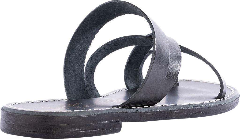 Women's Seychelles So Precious Toe Loop Sandal, Black Leather, large, image 3