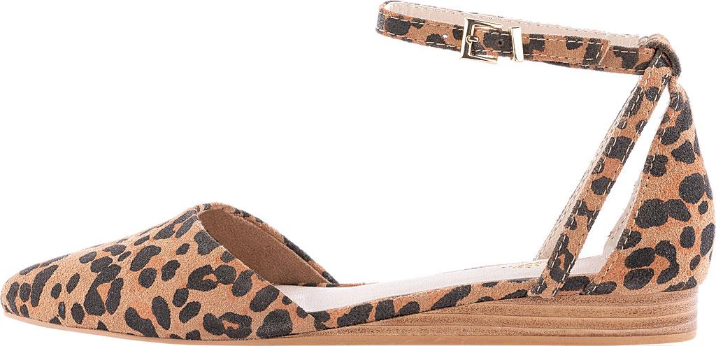 Women's Seychelles Plateau Ankle Strap Sandal, Leopard Suede, large, image 2