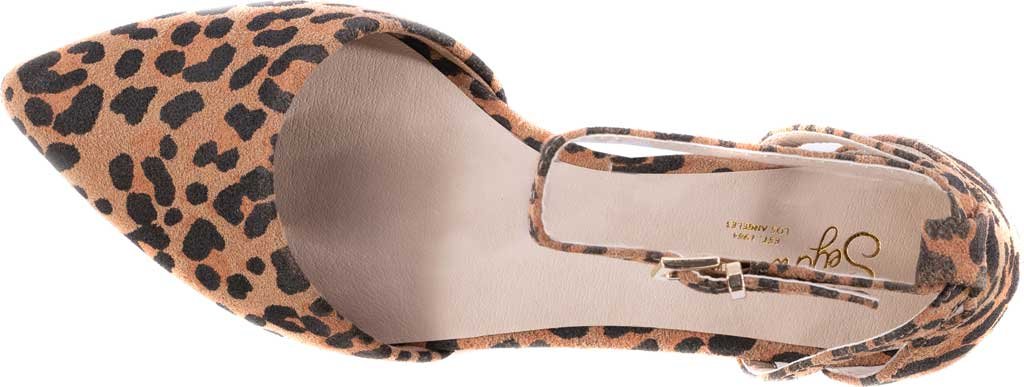 Women's Seychelles Plateau Ankle Strap Sandal, Leopard Suede, large, image 4