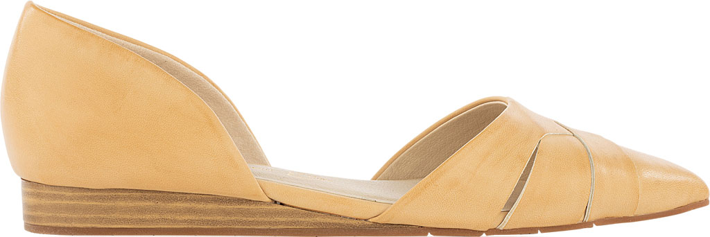 Women's BC Footwear Focal Point D'Orsay Flat, Natural Vegan Leather, large, image 2