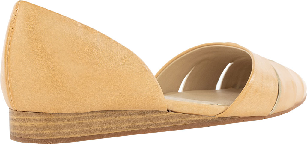 Women's BC Footwear Focal Point D'Orsay Flat, Natural Vegan Leather, large, image 3