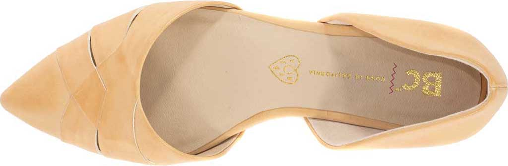 Women's BC Footwear Focal Point D'Orsay Flat, Natural Vegan Leather, large, image 4