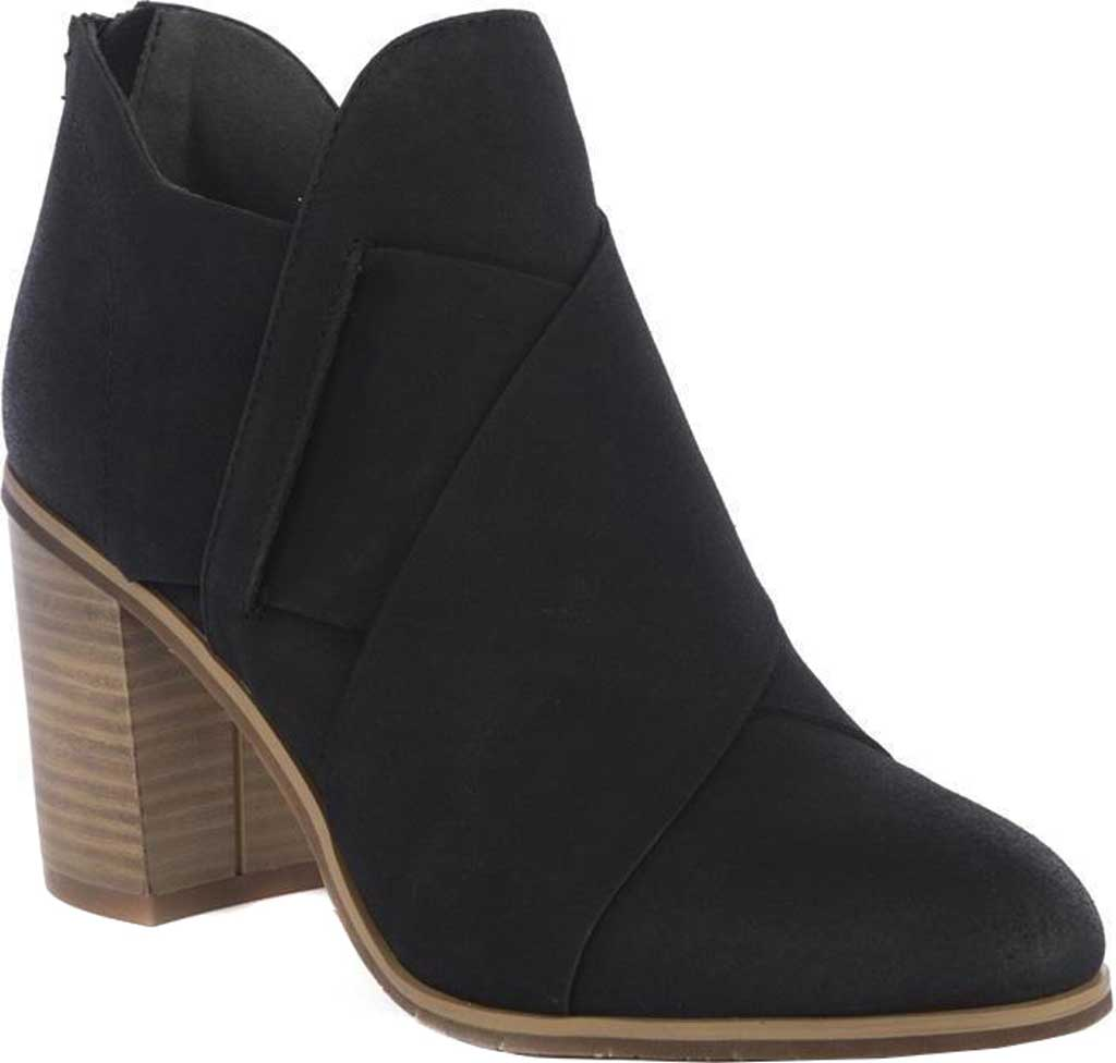 Women's BC Footwear Azalea Ankle Bootie, Black Vegan Nubuck, large, image 1