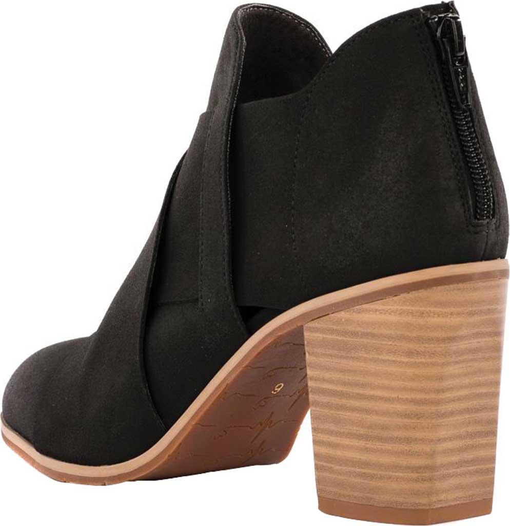 Women's BC Footwear Azalea Ankle Bootie, Black Vegan Nubuck, large, image 3
