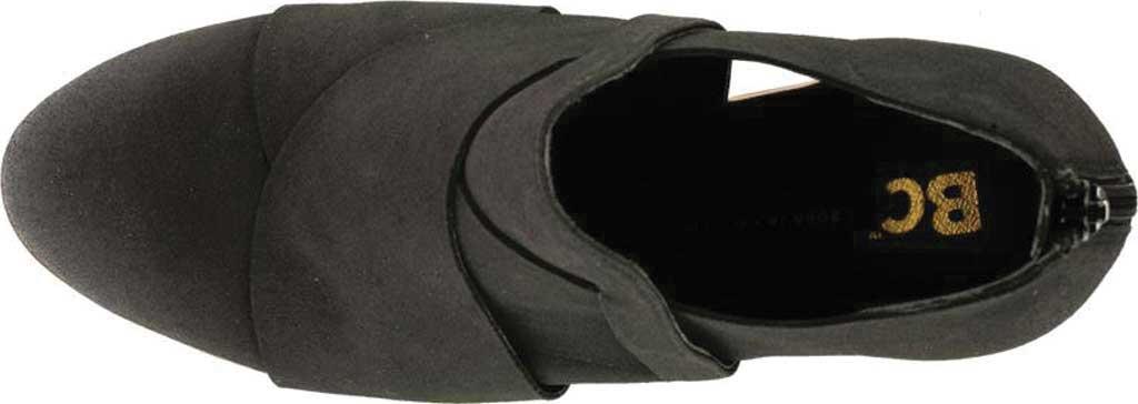 Women's BC Footwear Azalea Ankle Bootie, Black Vegan Nubuck, large, image 4