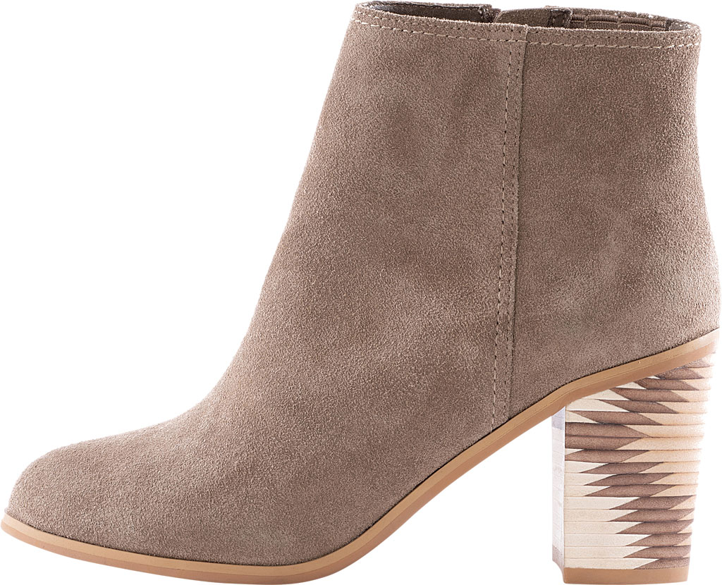 Women's Seychelles Grand Finale Ankle Bootie, Taupe Suede, large, image 2