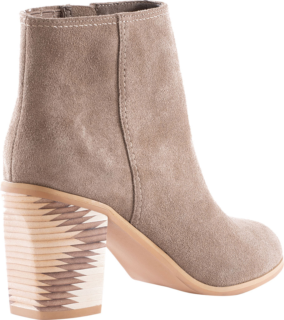 Women's Seychelles Grand Finale Ankle Bootie, Taupe Suede, large, image 3