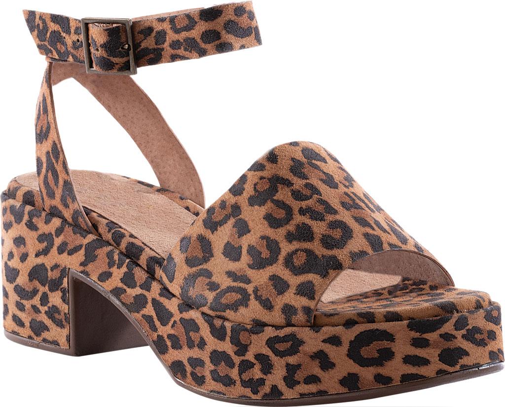 Women's Seychelles Calming Influence Ankle Strap Sandal, Leopard Suede, large, image 1