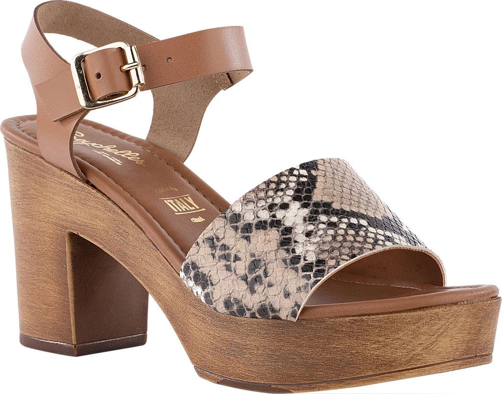 Women's Seychelles Jump For Joy Platform Sandal, Beige/Tan Python Leather, large, image 1