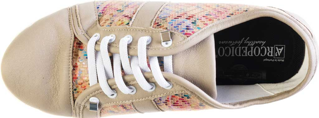 Women's Arcopedico Leta Water Resistant Sneaker, Taupe Arroyos Lytech, large, image 3