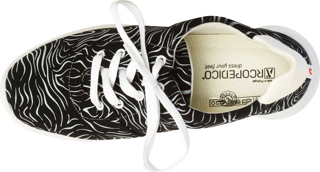 Women's Arcopedico L76 Sneaker, Black Lytech, large, image 3