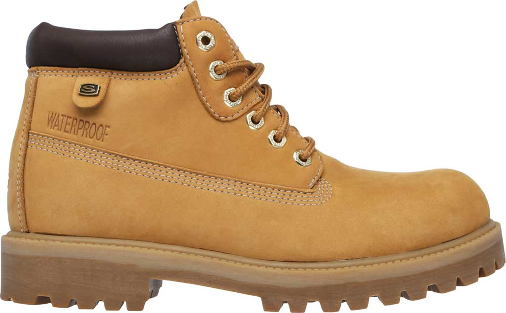 Men's Skechers Sergeants Verdict Rugged Ankle Boot, Wheat, large, image 2