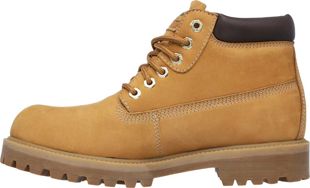 Men's Skechers Sergeants Verdict Rugged Ankle Boot, Wheat, large, image 3