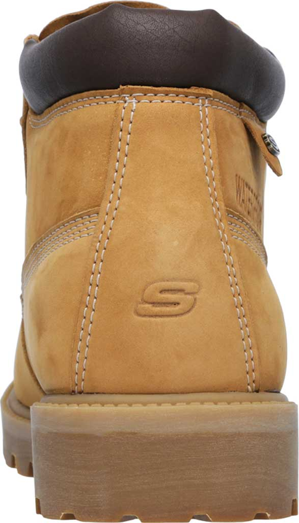 Men's Skechers Sergeants Verdict Rugged Ankle Boot, Wheat, large, image 4