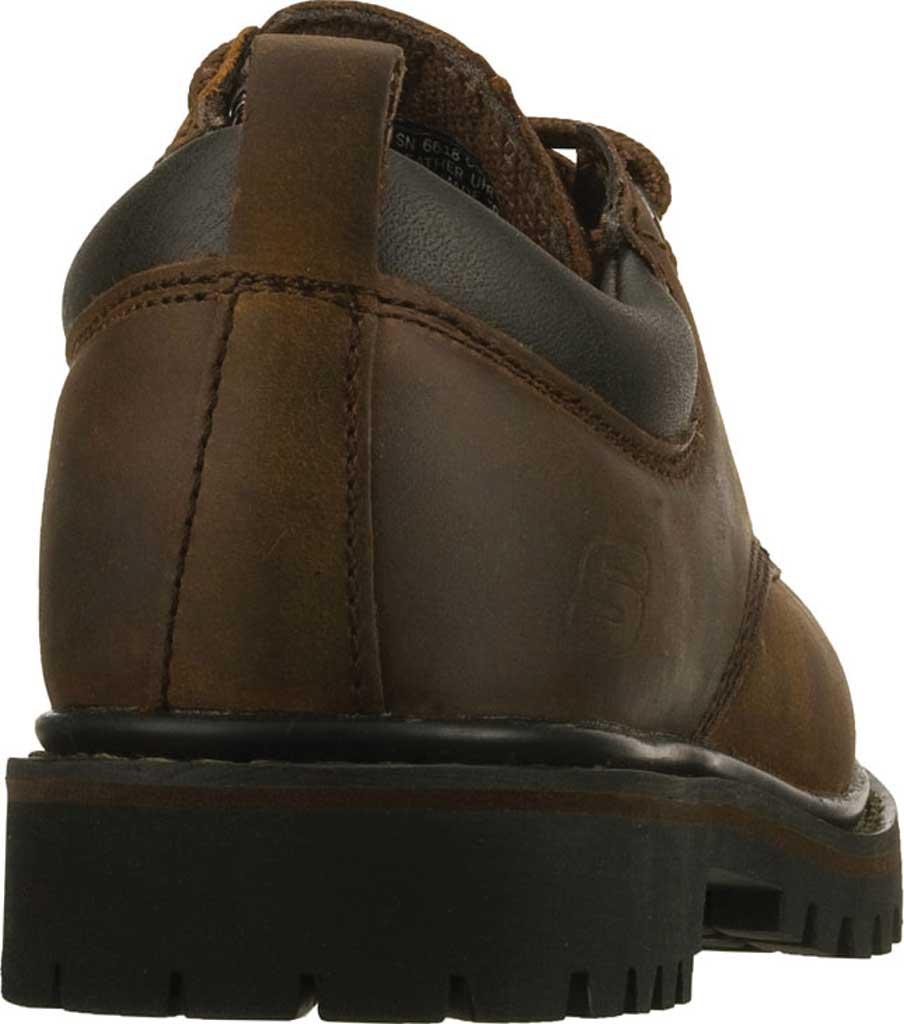 Men's Skechers Tom Cats Oxford, Dark Brown, large, image 4