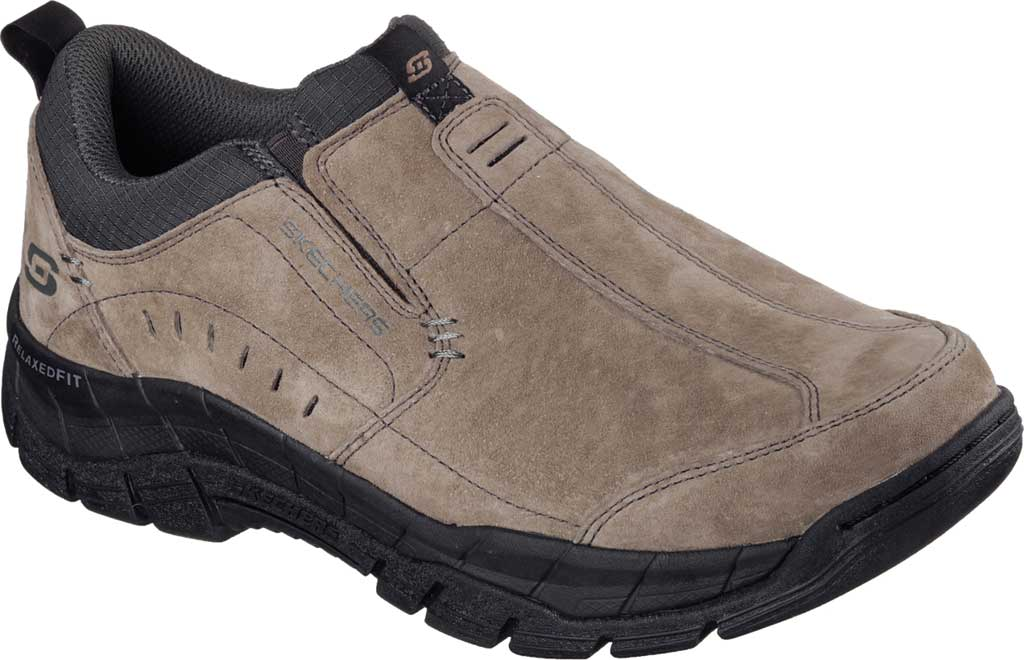 Men's Skechers Relaxed Fit Rig Mountain Top, Brown, large, image 1