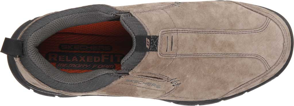 Men's Skechers Relaxed Fit Rig Mountain Top, Brown, large, image 5