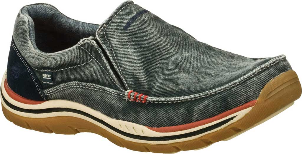 Men's Skechers Relaxed Fit Expected Avillo, Navy/Navy, large, image 1