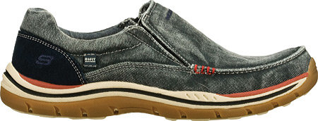 Men's Skechers Relaxed Fit Expected Avillo, Navy/Navy, large, image 2