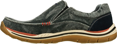 Men's Skechers Relaxed Fit Expected Avillo, Navy/Navy, large, image 3