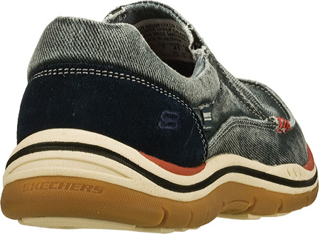 Men's Skechers Relaxed Fit Expected Avillo, Navy/Navy, large, image 4