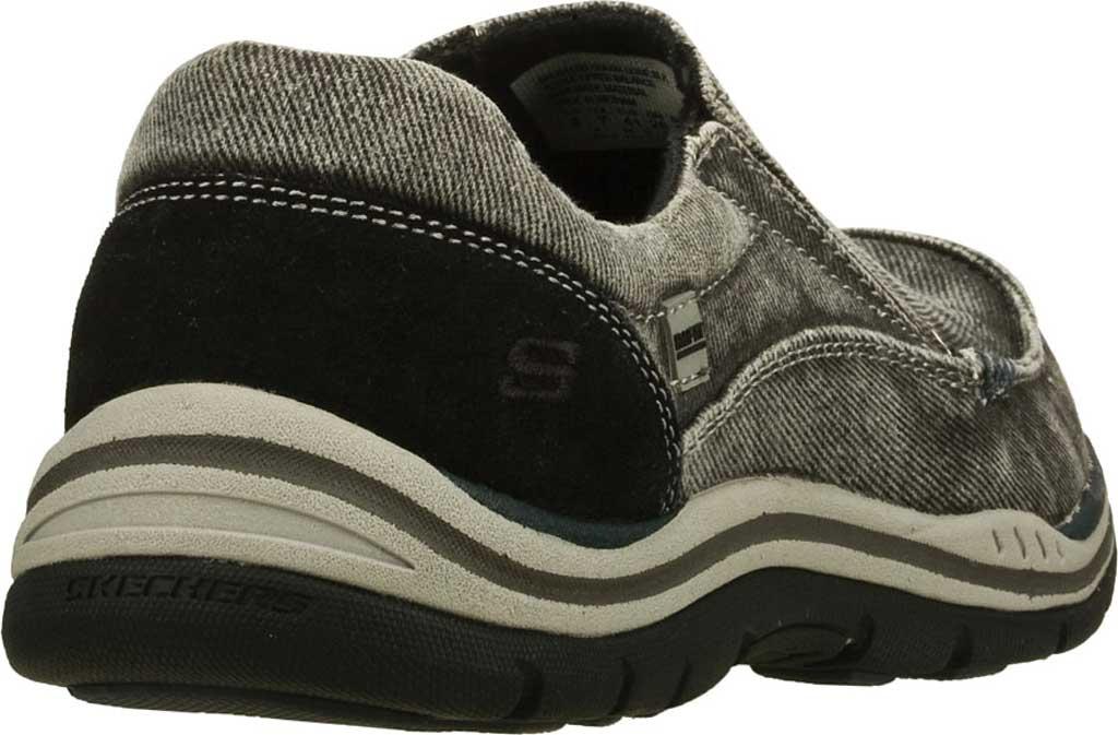 Men's Skechers Relaxed Fit Expected Avillo, Black, large, image 4