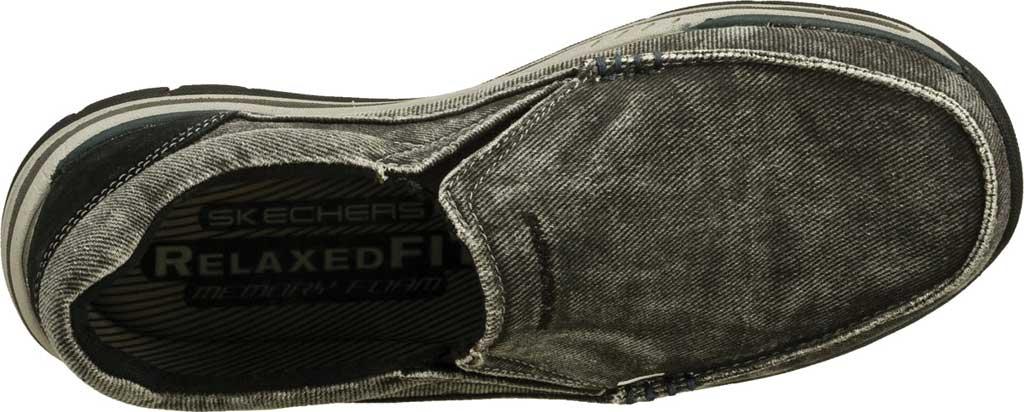 Men's Skechers Relaxed Fit Expected Avillo, Black, large, image 5