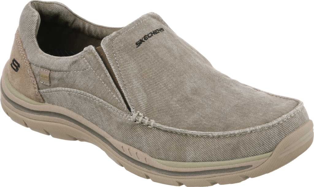 Men's Skechers Relaxed Fit Expected Avillo, Khaki, large, image 1