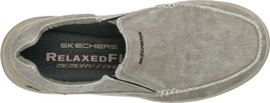 Men's Skechers Relaxed Fit Expected Avillo, Khaki, large, image 5