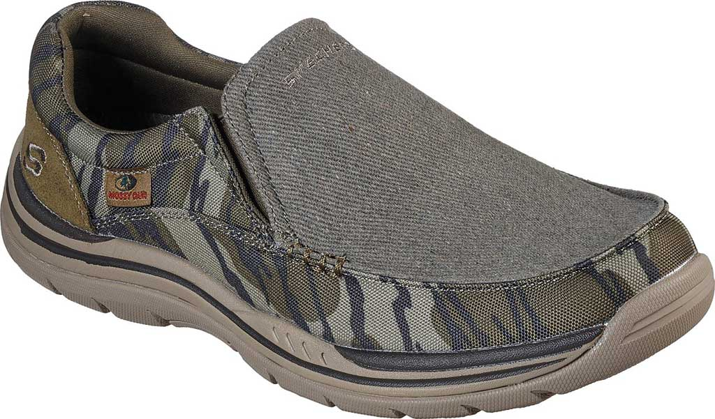 Men's Skechers Relaxed Fit Expected Avillo, Camouflage, large, image 1