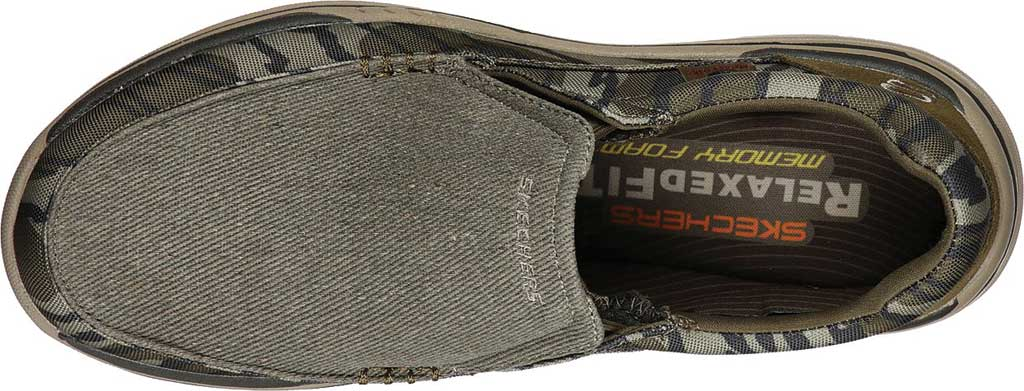Men's Skechers Relaxed Fit Expected Avillo, Camouflage, large, image 4
