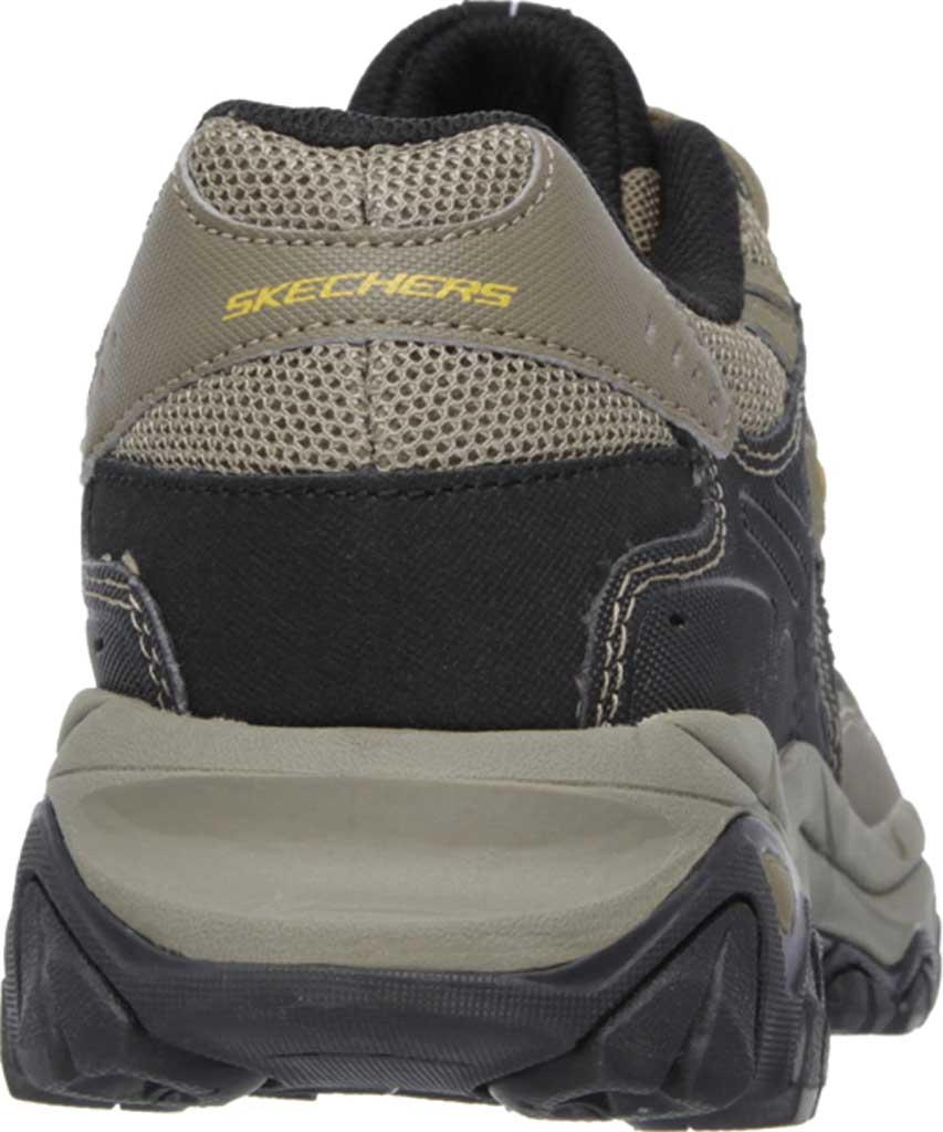 Men's Skechers After Burn Memory Fit Cross Training Shoe, Pebble/Black, large, image 4