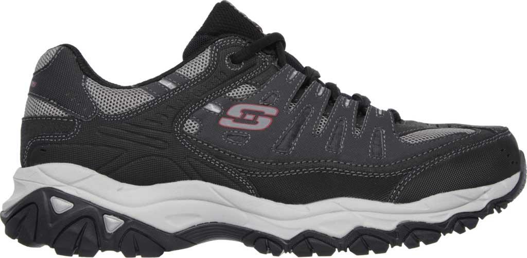 Men's Skechers After Burn Memory Fit Cross Training Shoe, Gray/Black, large, image 2