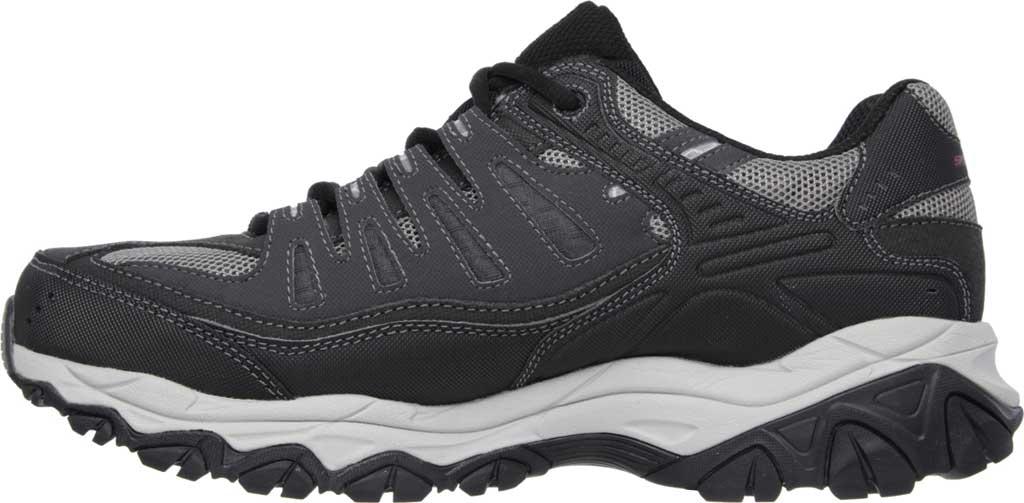 Men's Skechers After Burn Memory Fit Cross Training Shoe, Gray/Black, large, image 3