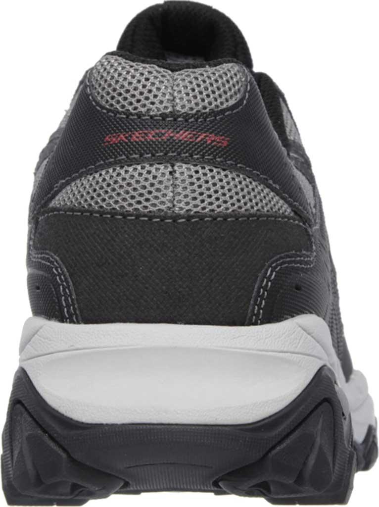 Men's Skechers After Burn Memory Fit Cross Training Shoe, Gray/Black, large, image 4