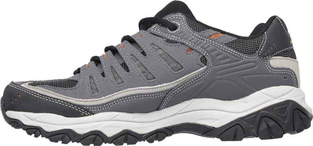 Men's Skechers After Burn Memory Fit Cross Trainer, Charcoal/Gray, large, image 3