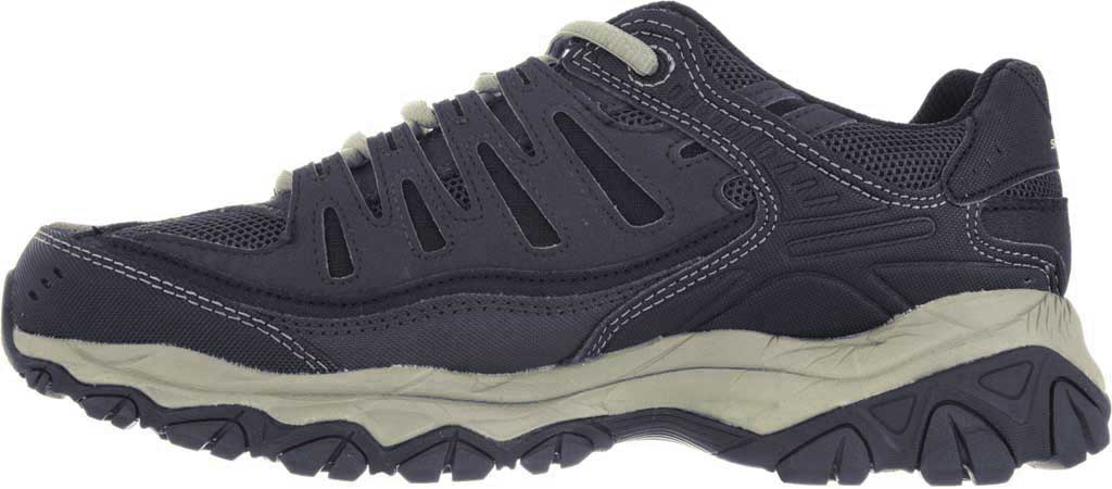 Men's Skechers After Burn Memory Fit Cross Training Shoe, Brown/Taupe, large, image 3