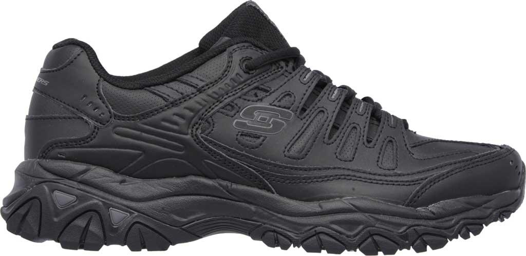 Men's Skechers After Burn Memory Fit Reprint Training Shoe, Black, large, image 2