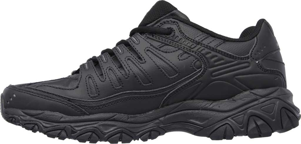Men's Skechers After Burn Memory Fit Reprint Training Shoe, Black, large, image 3