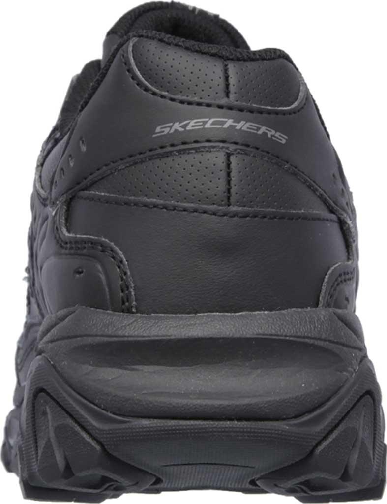 Men's Skechers After Burn Memory Fit Reprint Training Shoe, Black, large, image 4