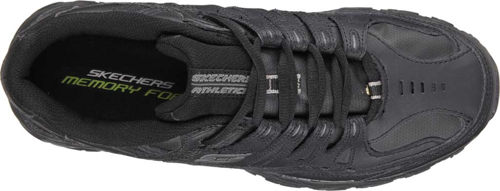 Men's Skechers After Burn Memory Fit Reprint Training Shoe, Black, large, image 5
