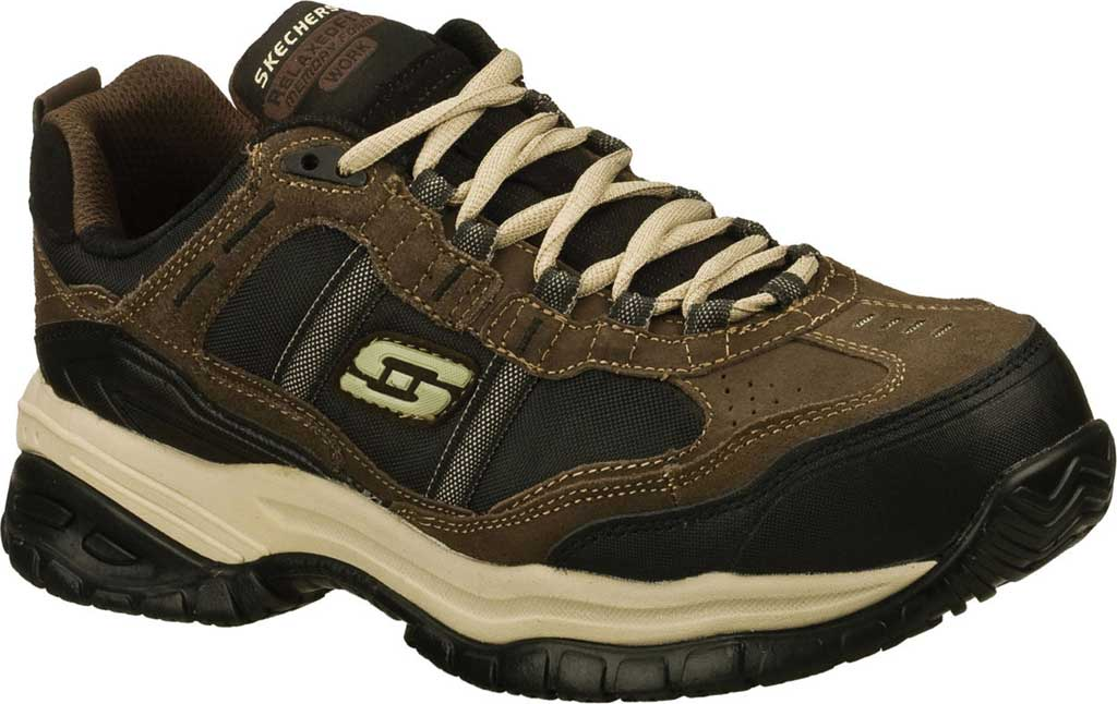 Men's Skechers Work Relaxed Fit Soft Stride Grinnell CT Shoe, , large, image 1