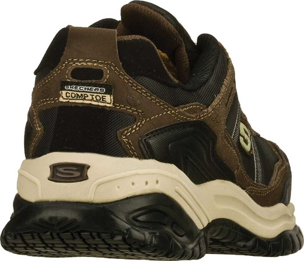 Men's Skechers Work Relaxed Fit Soft Stride Grinnell CT Shoe, , large, image 4