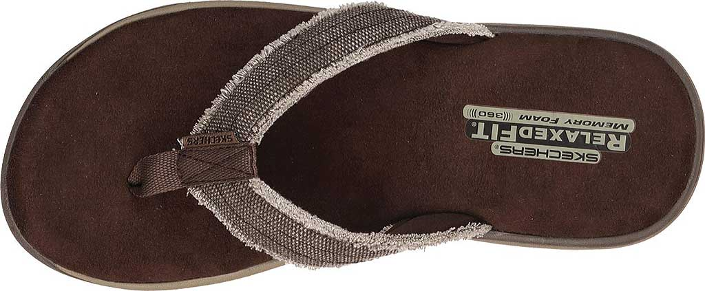 Men's Skechers Relaxed Fit Supreme Bosnia, Chocolate, large, image 5