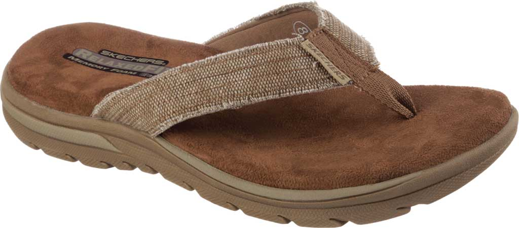 Men's Skechers Relaxed Fit Supreme Bosnia, Natural, large, image 1